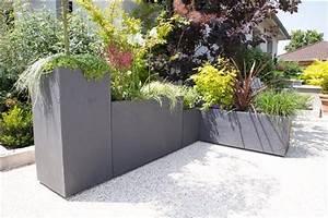 Bac A Fleur Muret : muret volcania gris galet eda plastiques ~ Premium-room.com Idées de Décoration