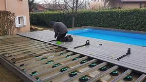 Bois Pour Terrasse Piscine : terrasse piscine composite pas cher ~ Edinachiropracticcenter.com Idées de Décoration