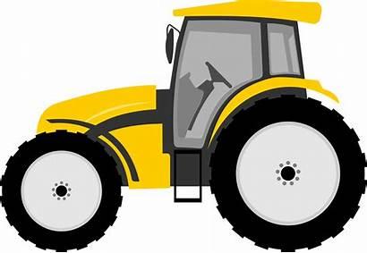 Tractor Clip Clipart Vector Cartoon Farmall Hayride