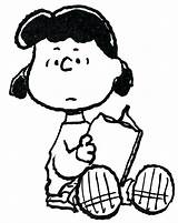 Characters Brown Charlie Coloring Pages Lucy Peanuts Peanut Getcolorings Printable Pag Getdrawings sketch template