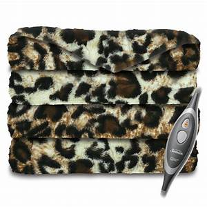 sunbeam faux fur ultra soft oversized heated electric With best oversized throw blanket