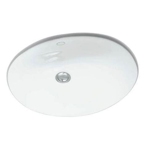 Kohler Caxton Sink Home Depot by Kohler Caxton Undermount Bathroom Sink In White K 2209 0