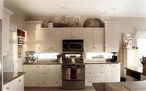 above kitchen cabinet decor classic white wooden wall With kitchen cabinets lowes with diy oversized wall art