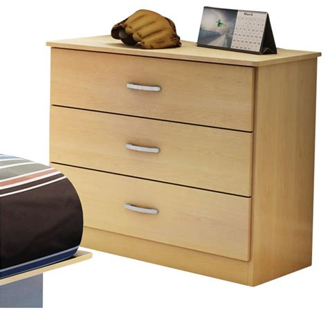 south shore libra 3 drawer dresser south shore libra 3 drawer chest in maple