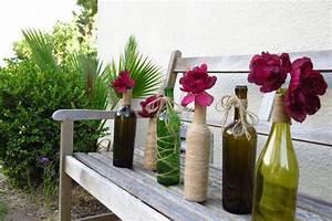 Deko Für Vasen : 29 originelle vasen aus glasflaschen f r besondere anl sse ~ Indierocktalk.com Haus und Dekorationen