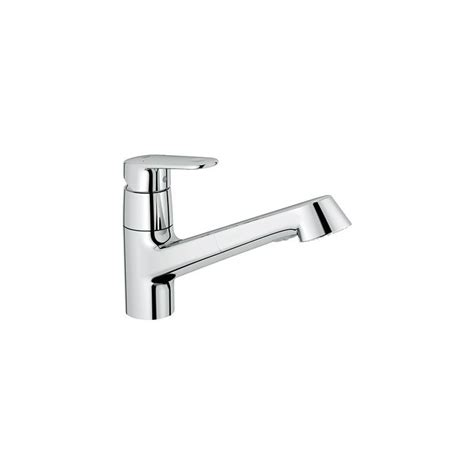 grohe europlus kitchen faucet grohe 3294620e starlight chrome europlus pullout spray