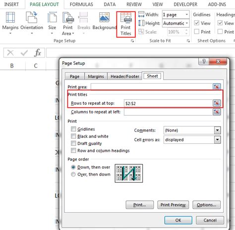 "C#  How To Set Excel ""print Titles"" With Openxml Stack"