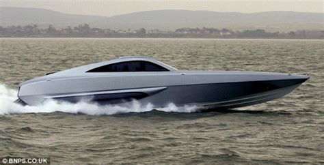 Trimaran James Bond by Awesome Xsr Interceptor Super Boat For Auction