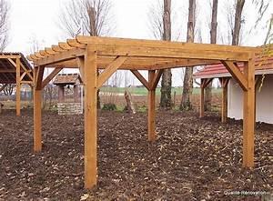 tacivcom faire sa pergola en bois soi meme With lovely comment monter une tonnelle de jardin 11 pergola bois pergola aluminium pergola fer forge mon