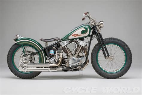 1947 Harley-davidson Knucklehead. [desktop Wallpaper