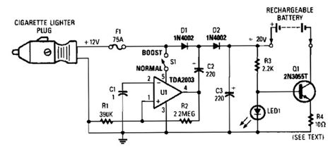 Vdc Mobile Battery Charger Power Supply Circuits