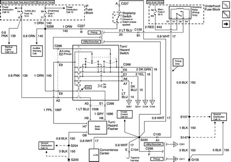 2003 Tahoe Trailer Wiring Diagram by 2003 Chevy Trailblazer Stereo Wiring Diagram Wiring