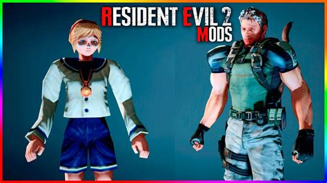 Resident Evil 2 Mods Sherry Birkin And Chris Redfield As