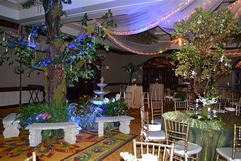 Garden Decoration Themes by Enchanted Prom Theme Prom Themes Enchanted Garden And