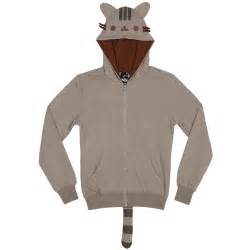 pusheen the cat licensed nwt zip hoodie