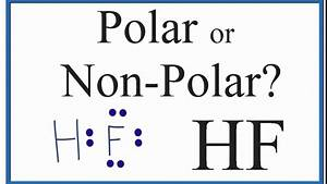 Is Hf Polar Or Non-polar   Hydrofluoric Acid