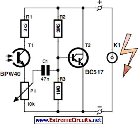 Slave Flash Trigger Circuit Diagram