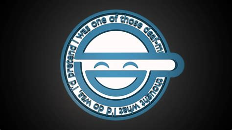 Laughing Animated Wallpaper - laughing logo animated hd 3d render