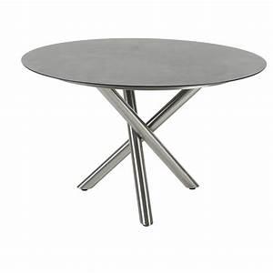 Tischplatte Rund 120 Cm : diamond garden san marino gartentisch rund ~ Markanthonyermac.com Haus und Dekorationen