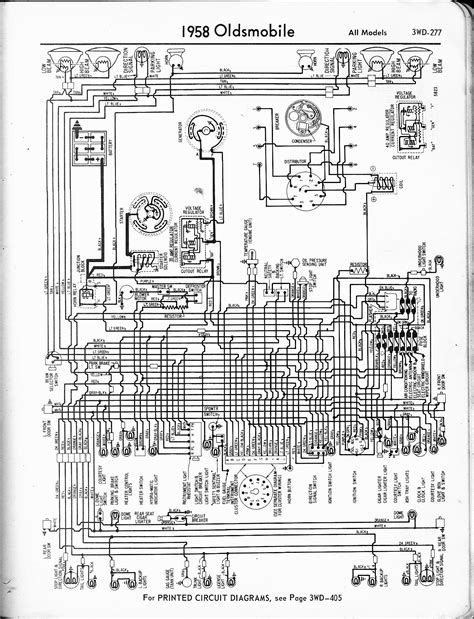 1958 Oldsmobile Ignition Switch Wiring Diagram oldsmobile wiring diagrams the car manual project