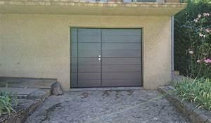 Porte Garage Sectionnelle Avec Portillon : porte de garage basculante wrt ~ Melissatoandfro.com Idées de Décoration