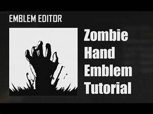 Black Ops 2: Zombie Hand Emblem Tutorial - YouTube