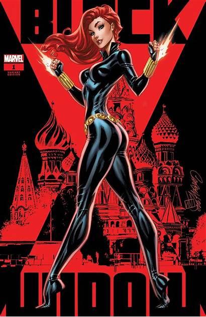 Widow Campbell Comics Js Var Marvel