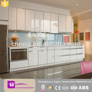 kitchen cabinets acrylic doors high gloss acrylic sheet kitchen cabinet in kerala 5884