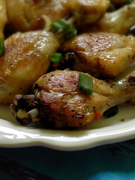 la cuisine au four cuisses de poulet au four bien croustillantes une