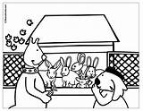 Rabbit Coloring Hutch Peter Uptoten Pages Kwala Boowa Games Popular sketch template