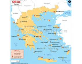 buy greece airports map