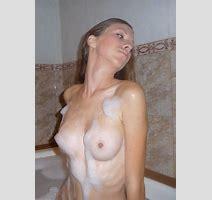 Amateur Nude Skinny Girl Bath Redbust