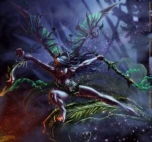Dark Fairy Nyxie by Stoskri on DeviantArt