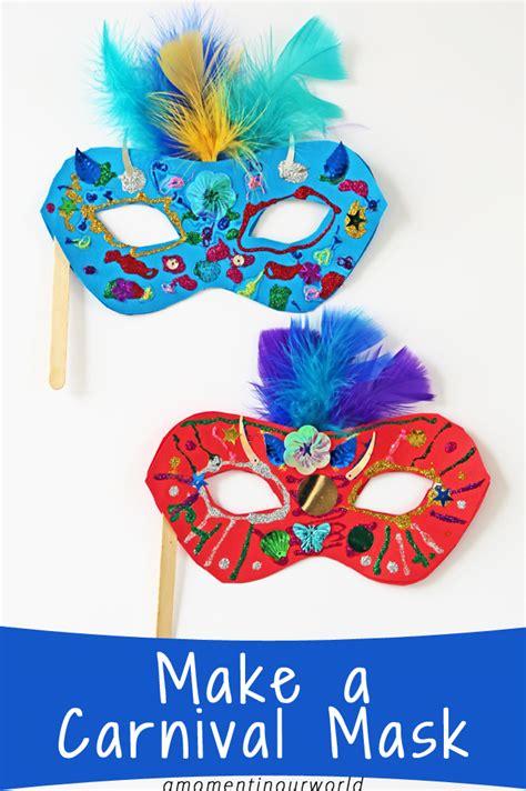 make a carnival mask simple living creative 221 | Carnival Mask