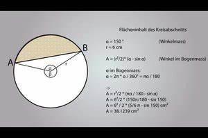 Querschnitt Berechnen Formel : video kreisabschnitt berechnen so geht 39 s ~ Themetempest.com Abrechnung