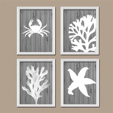 beach bathroom wall art canvas or prints nautical