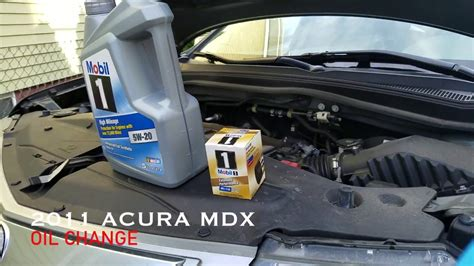 change engine oil  acura mdx  honda pilot