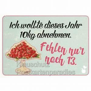 Dankeschön Sprüche Bilder : 10kg abnehmen lustige spr che postkarte ~ Frokenaadalensverden.com Haus und Dekorationen