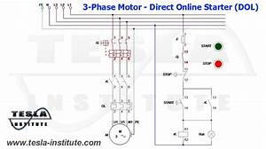 Wiring Diagram Of A Direct Online Starter