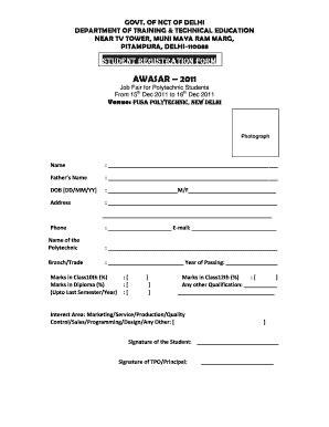 registration form format pdf hd quality student registration form format fill online