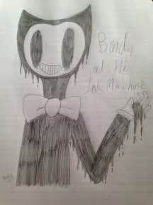 Bendy the Machine and Ink Drawings