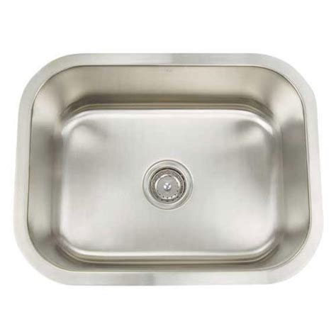 single bowl kitchen sink sizes stainless steel single bowl sinks 7953
