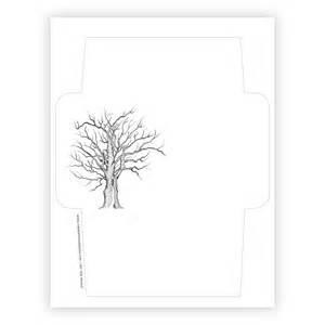 free printable envelope template tree the postman 39 s knock