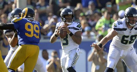 rams mcvay gurley phillips  week  matchup seattle