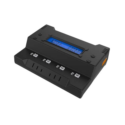 4ch 1s intelligent smart fast charging lipo lihv battery charger xt60 jst mcx mcpx molex