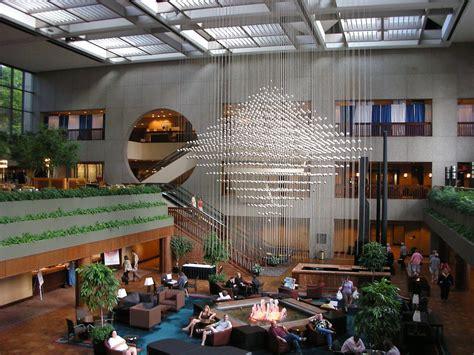 hotel lobby hyatt regency crown center team national