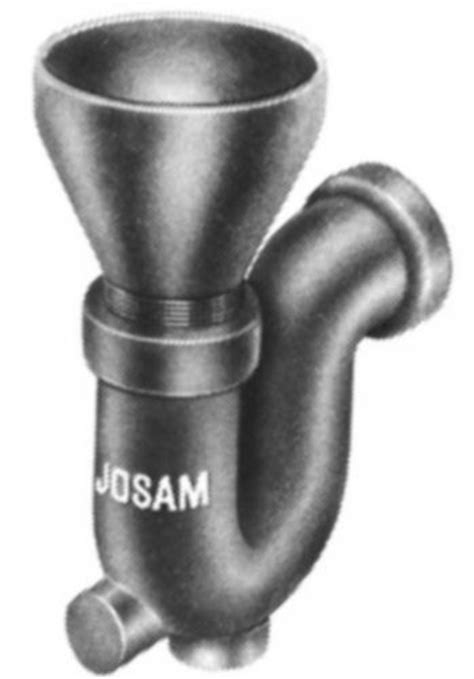 Josam Pvc Floor Drains by Js88210 Josam 88210 Seal Trap Funnel Inlet By