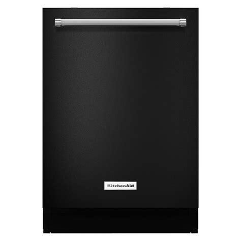 Kitchenaid 24 In Top Control Dishwasher In Black With