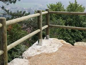 Barrière En Bois Jardin : clotures en rondins de bois ~ Premium-room.com Idées de Décoration
