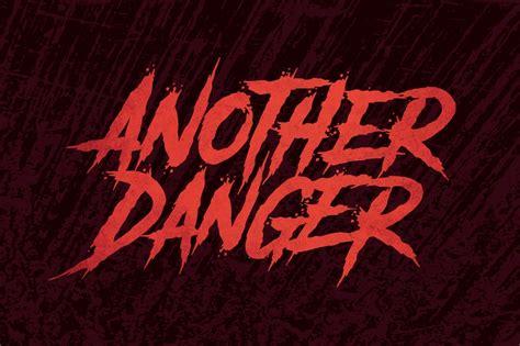 danger font befontscom
